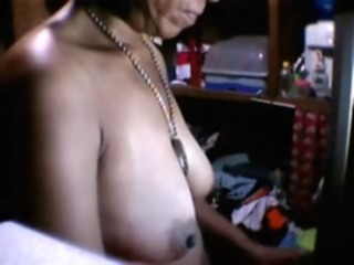 FILIPINA older RHODORA LEPITEN 51 SHOWS HER BUMPERS PART two mature webcam big tits