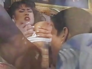 Minka gets it on sofa. asian mature big tits
