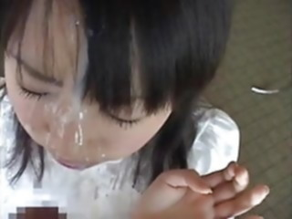 Japanese teens facial compilation cumshot facial japanese
