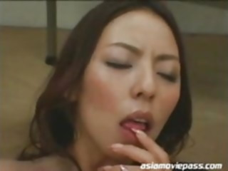 Japanese Cum Facials Asian Teacher Office Lady Ryoko ddb098 blowjob hardcore facial