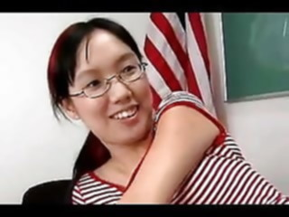 Nerdy Asian Lystra Is Fucked By Teacher asian hardcore teen