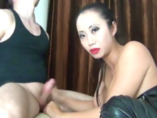 Asian beauty fuck and give blowjob amateur asian cumshot