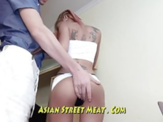 Lithe Anal Fuck Bimbo With Sperm In All Three Holes amateur anal asian