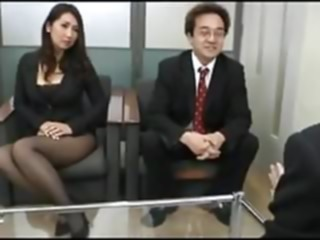 Do your best for the company (uncensored) blowjob mature japanese